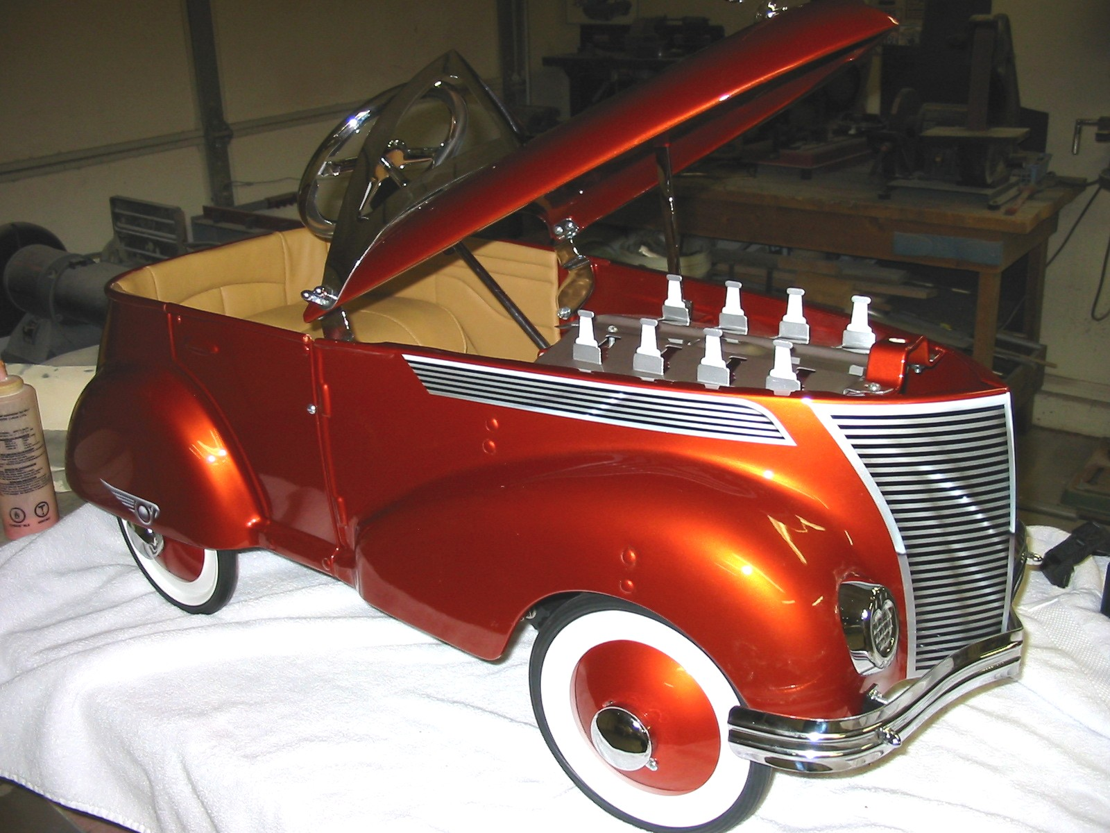 Tricycle Restoration Parts : Pedal car reproduction parts bing images